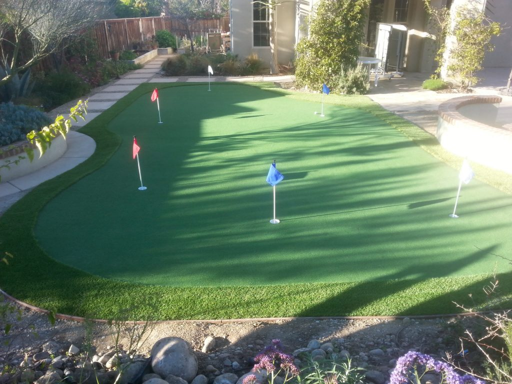 Synthetic Turf Putting Greens For Backyards San Marcos, Best Artificial Lawn Golf Green Prices