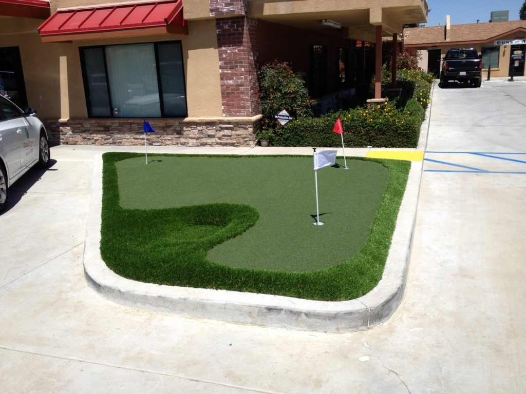 Synthetic Lawn Golf Putting Green Company San Marcos, Best Artificial Grass Installation Prices
