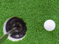 Artificial Turf Golf Greens Installation in San Marcos, Putting Greens Turf Company