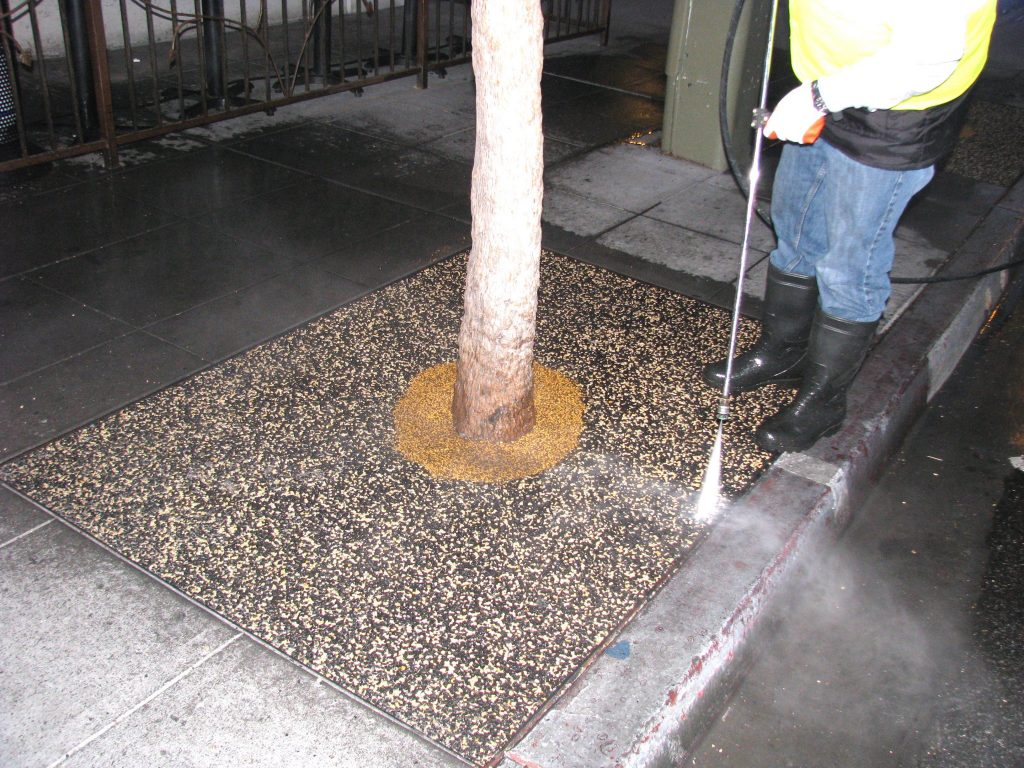 Tree Well Maintenance Service San Marcos, Porous Tree Well Install San Marcos